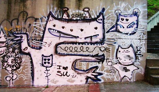 Muralismo de Giovanny Sánchez