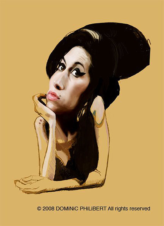 Amy Winehouse por DOMINIC PHILIBERT