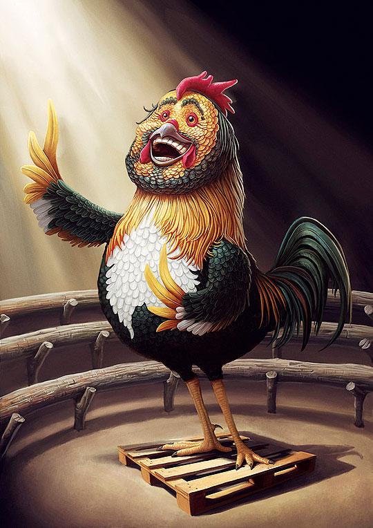 Pavarotti por Hoisel