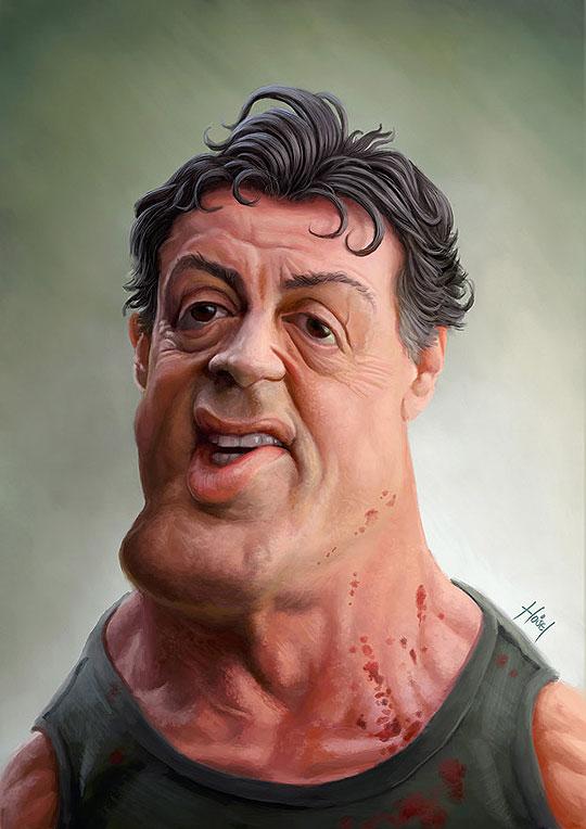 Stallone por Hoisel