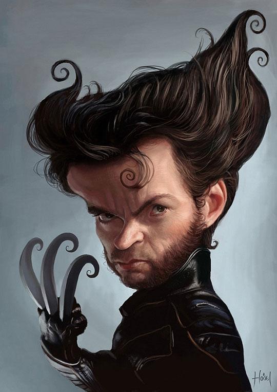 Wolverine por Hoisel