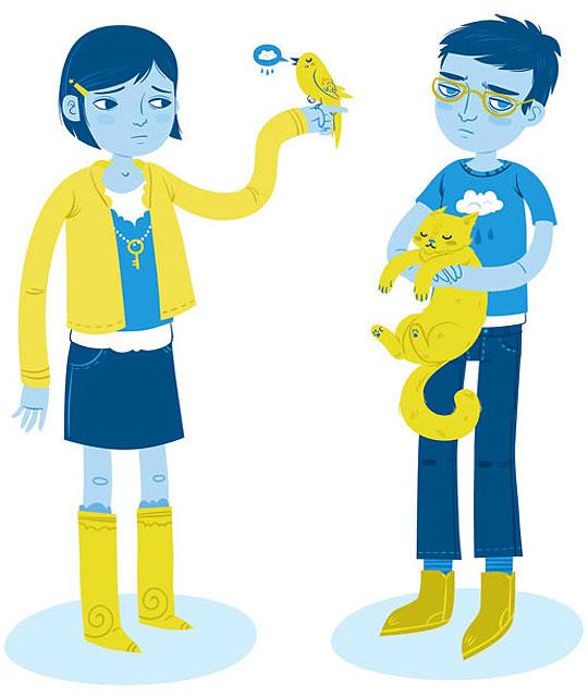 Ilustración de LUISA URIBE