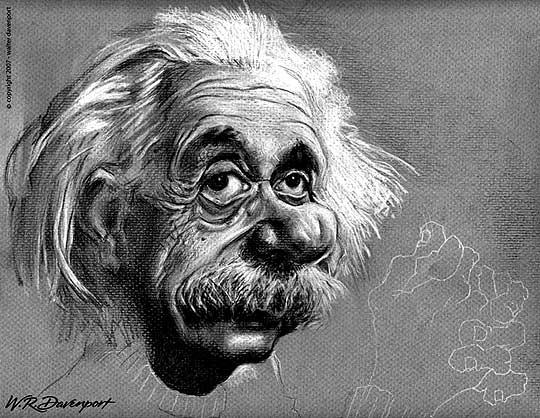 Caricatura de WALTER DAVENPORT