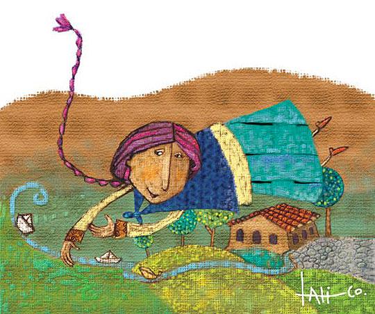 ilustración infantil de EULALIA CORNEJO