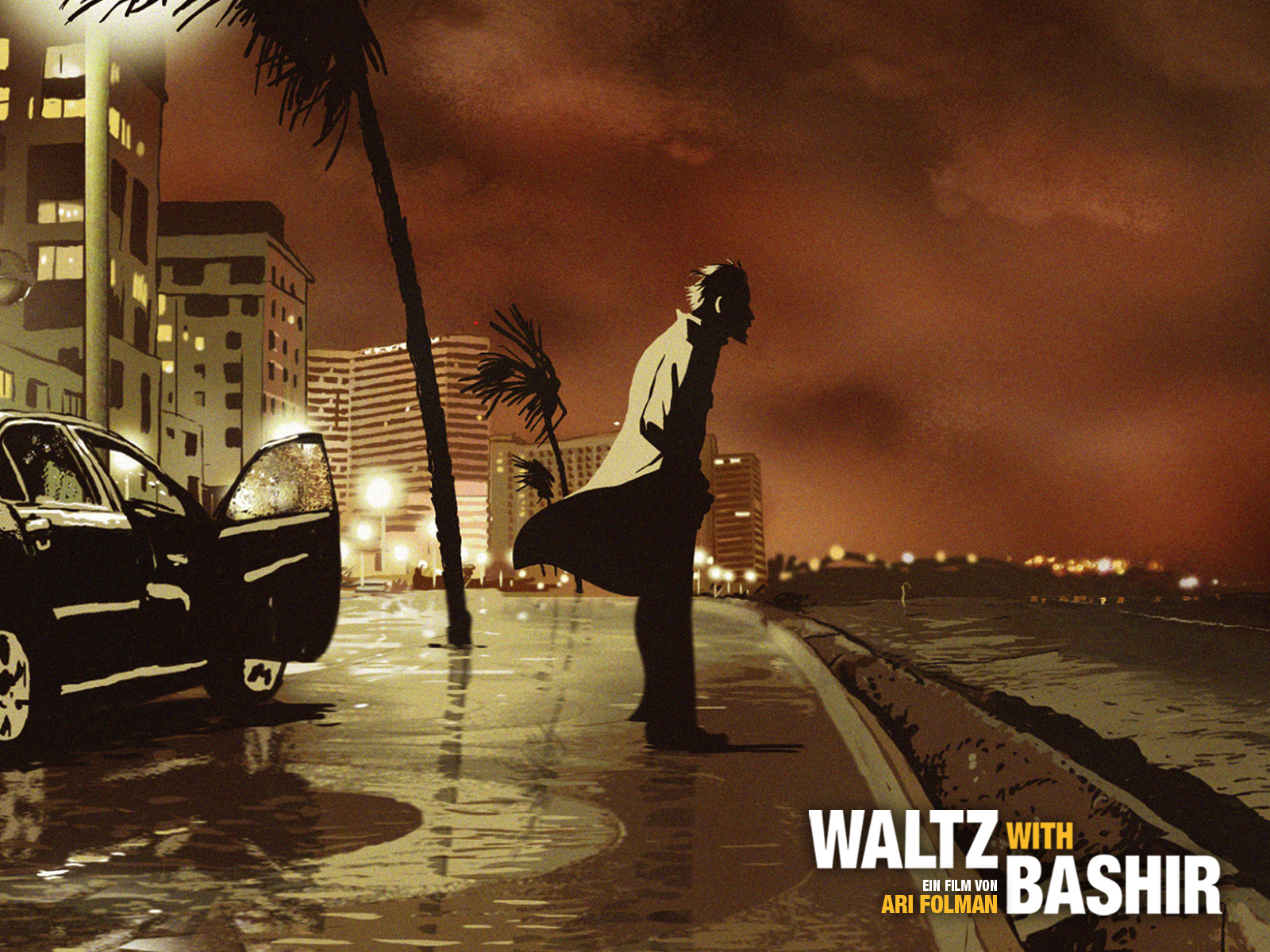 Vals con Bashir, wallpaper