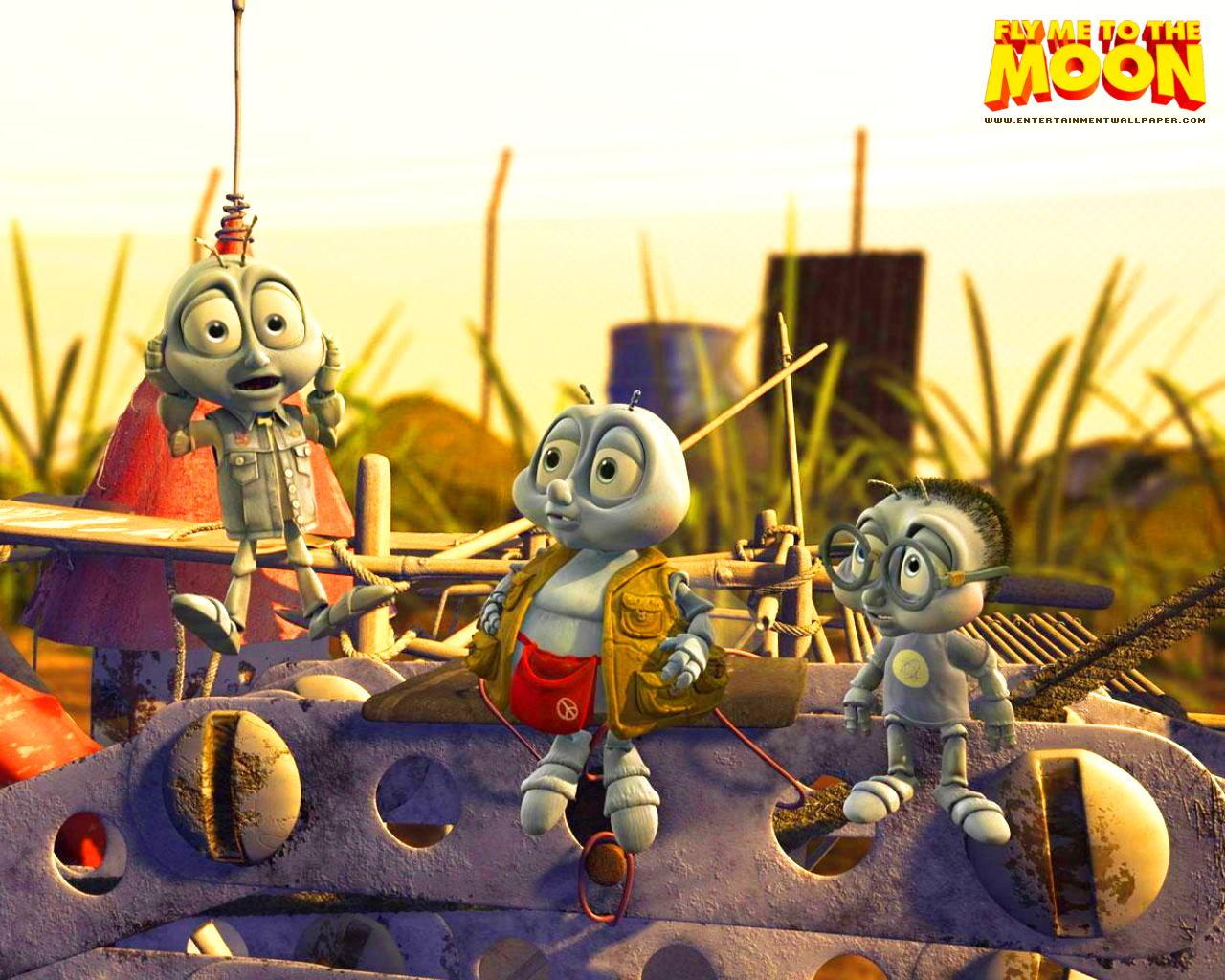 Wallpapers y trailer de la película animada FLY ME TO THE MOON
