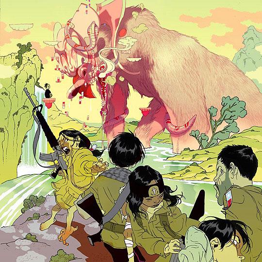 Ilustración de TOMER HANUKA