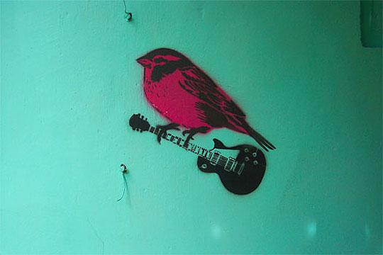 Arte callejero  de BURZACO STENCIL