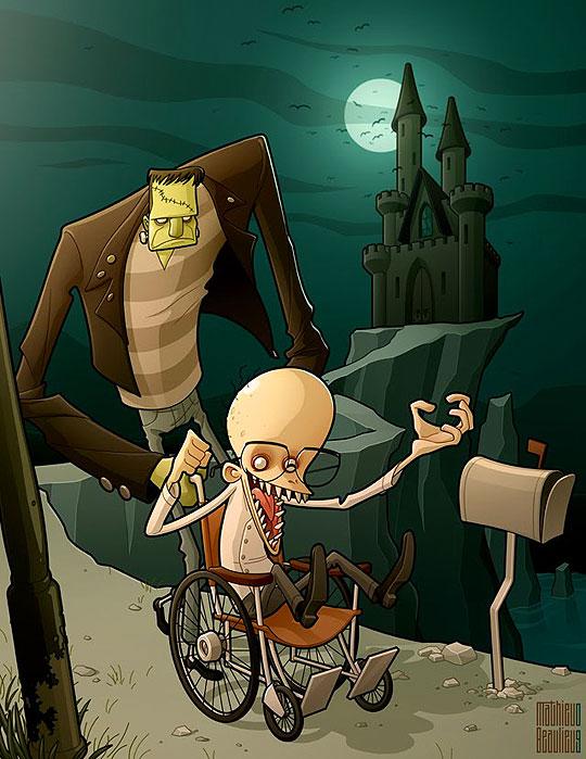 Ilustración de MATHIEU BEAULIEU