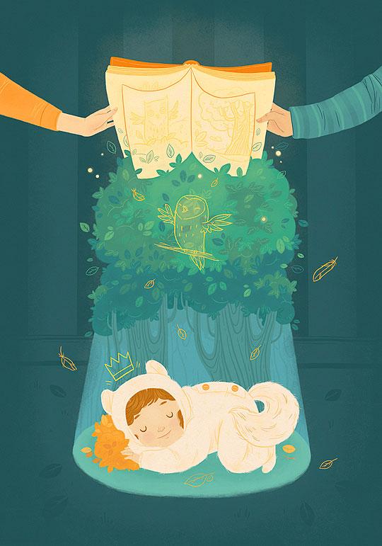 Ilustración infantil de Luisa Uribe