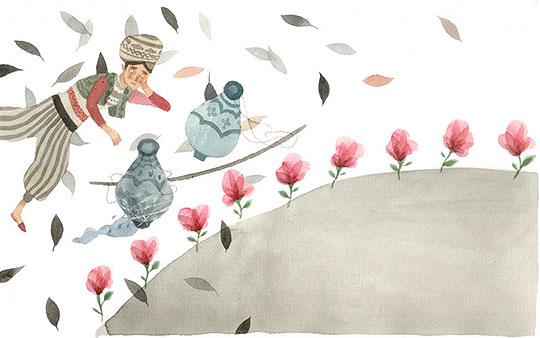 Ilustración infantil de José Sanabria