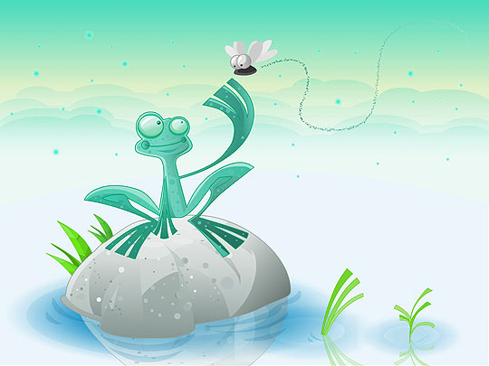 Ilustración infantil de Gustavo Utria