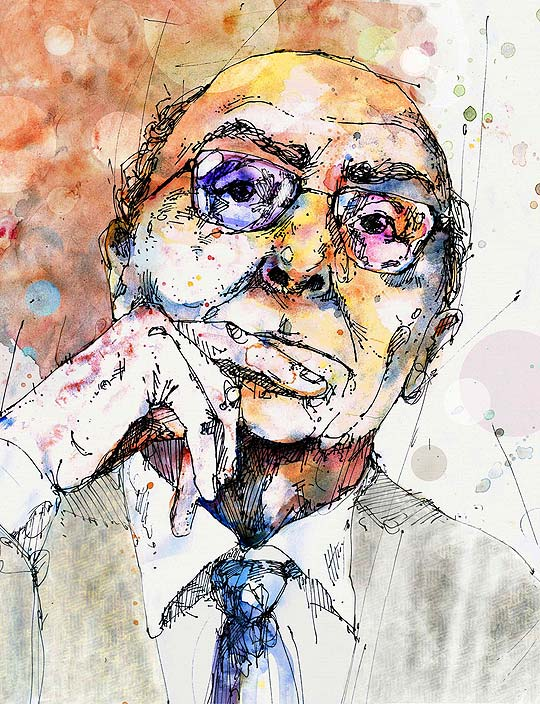 José Saramago por Pedro Covo