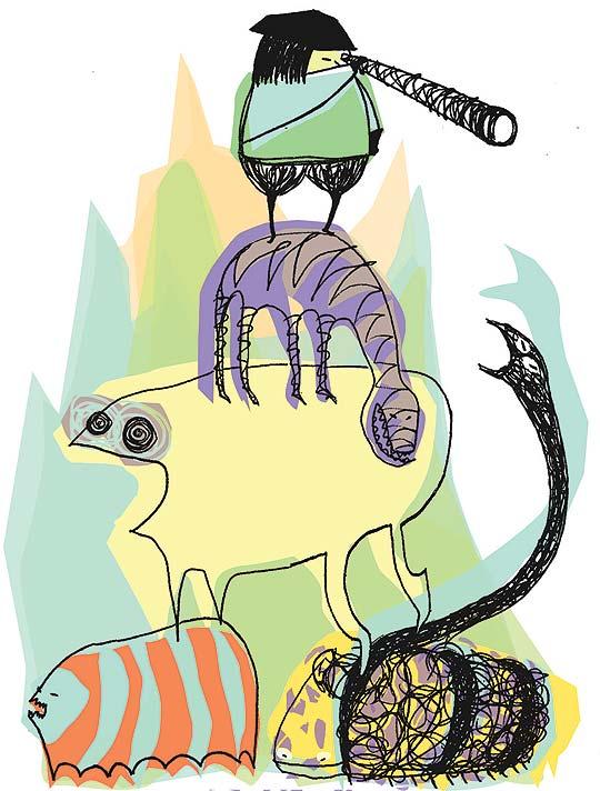Ilustración infantil de Sonia Pérez