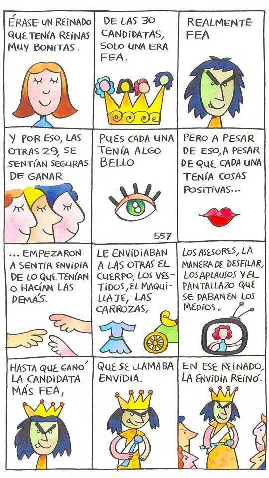 Cuento dibujado, Ilustración infantil de Santiago Díaz