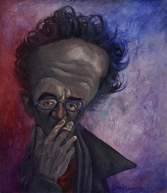 Roberto Bolaño por Carlos Cardona