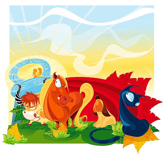 Ilustración infantil de Juan Chocolatero