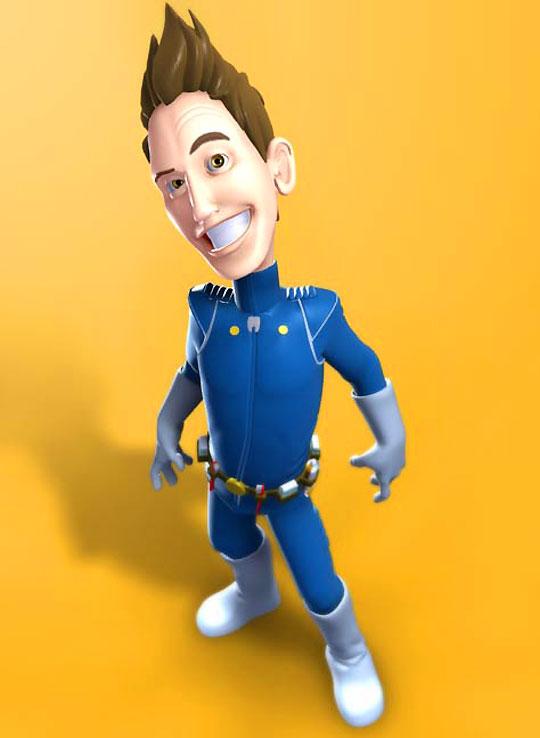 Modelado 3D, creación de personajes y animación con JASON BALDWIN