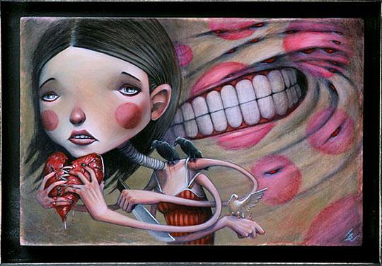 Arte e ilustración de JOSHUA CLAY