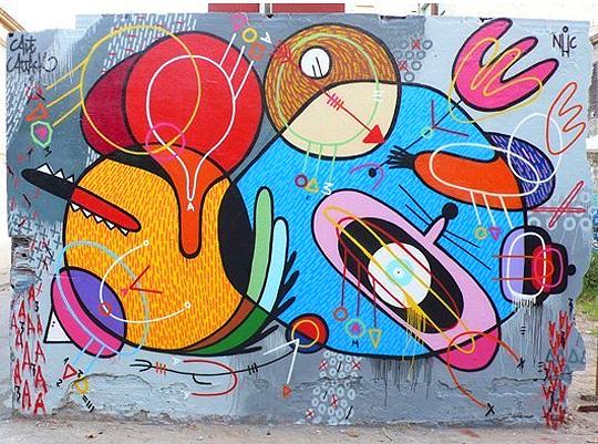 Pintura, escultura y graffiti de SIXEART
