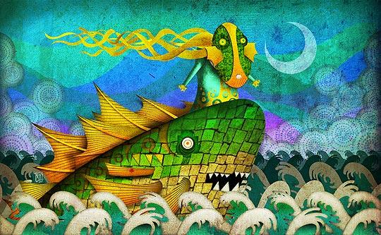 Ilustración de TONY GANEM