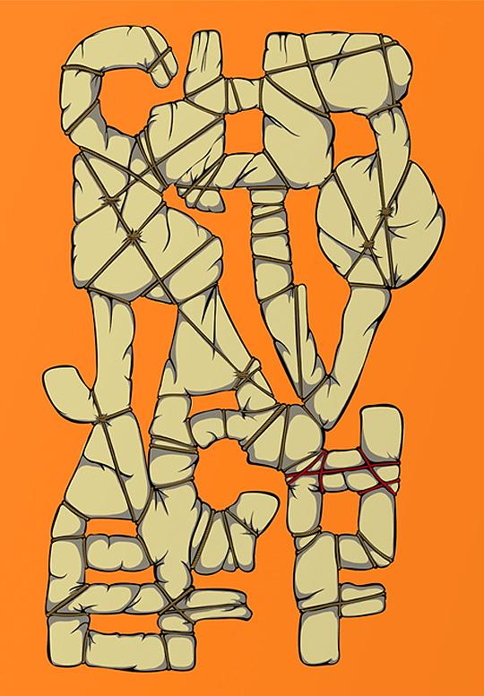 Tipografía y arte de SERSE RODRIGUEZ