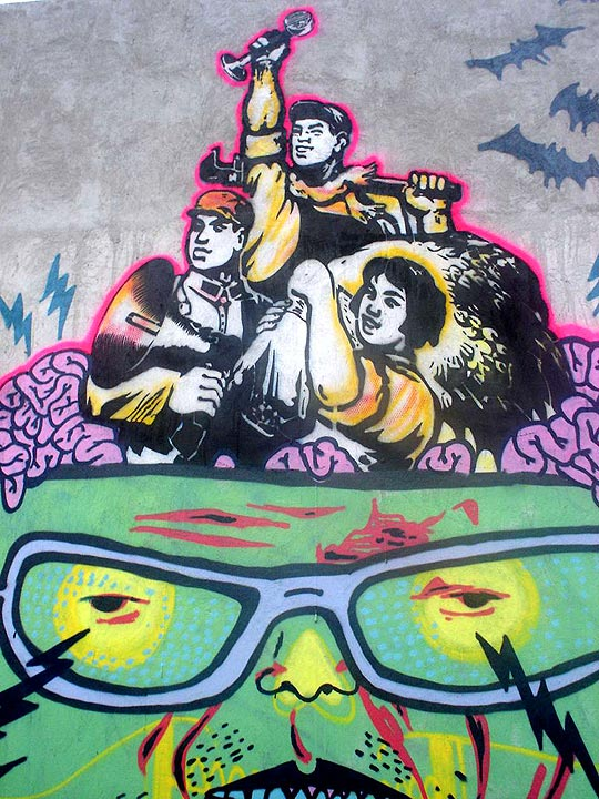Arte urbano de FLUJO VISUALS