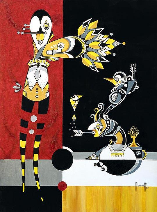 Pintura e ilustración de FERNANDO CHAMARELLI