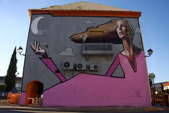 Arte urbano y pintura de BELIN.