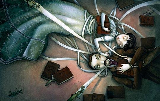 Ilustración de BENJAMIN LACOMBE.