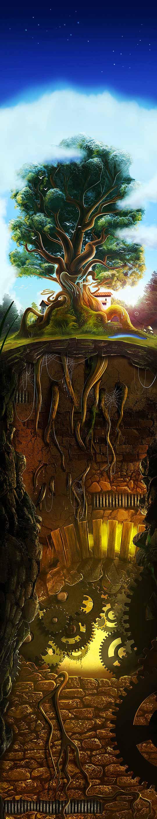 Arte digital de DAVID FUHRER.