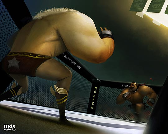 Ilustración digital de MAX KOSTENKO.