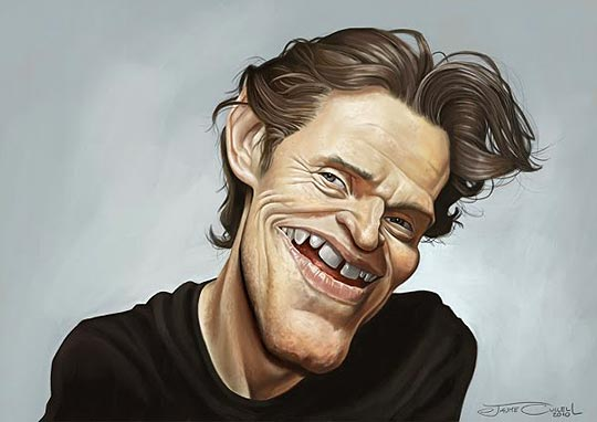 Caricatura de famosos por JAUME CULLELL.