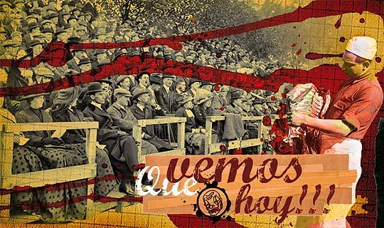Ilustración y collage de BIÑOKA.