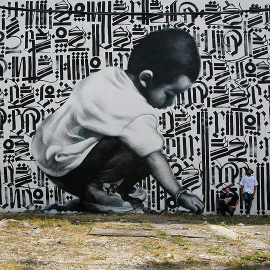 """Pintura y arte urbano de MILES """"MAC"""" MACGREGOR"""