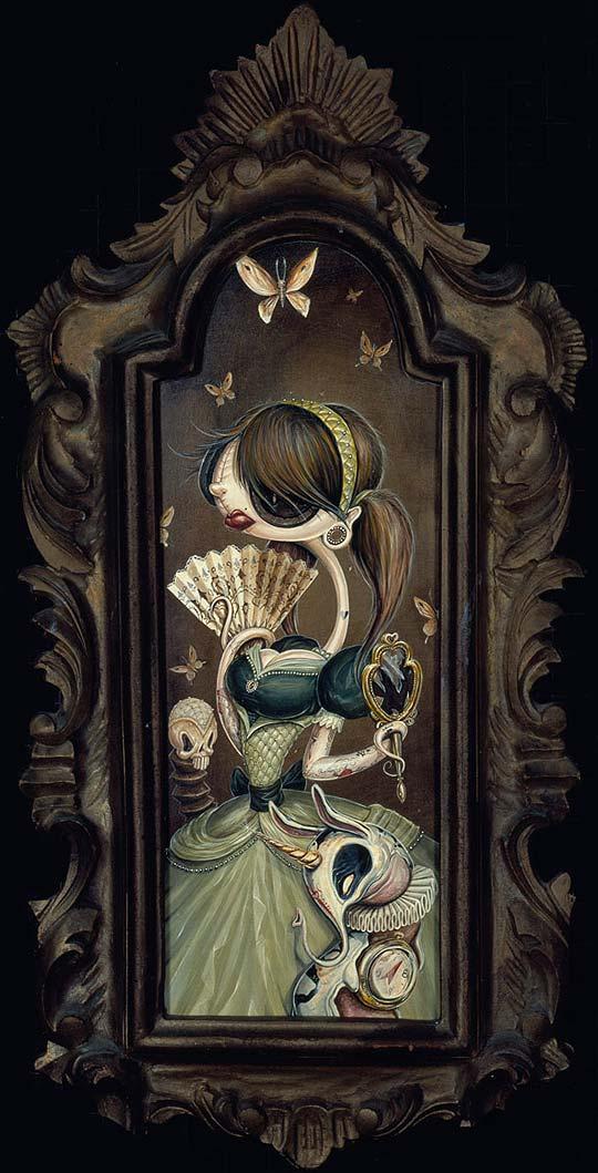 Ilustración, arte urbano y surrealismo de GREG CRAOLA SIMKINS.