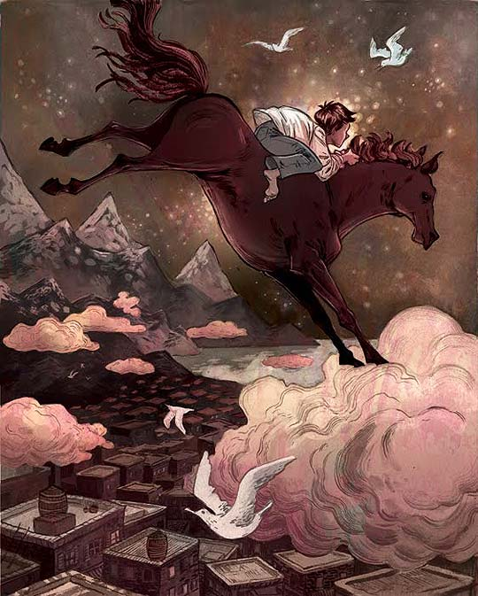 Ilustración desde Canadá con LAURA BIFANO.