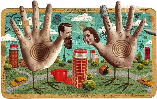 Collage e ilustración de MICHAEL WARAKSA.