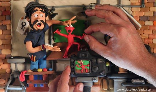 Stop Motion  y animación en plastilina con Edgar H. Alvarez