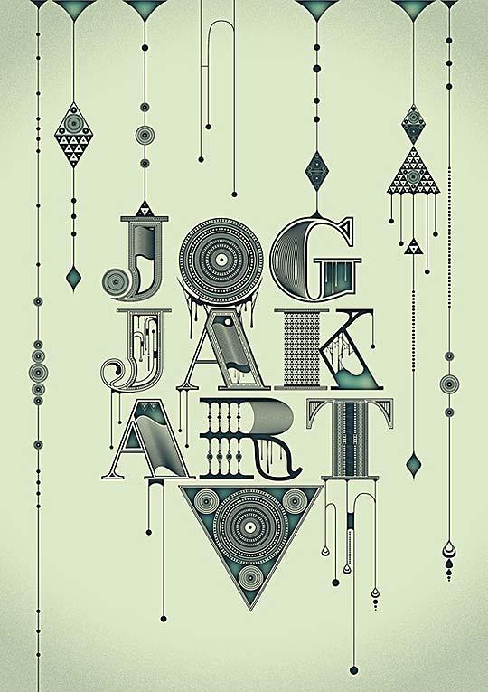 Diseño, tipografía e ilustración de SOUTHTREEZ.