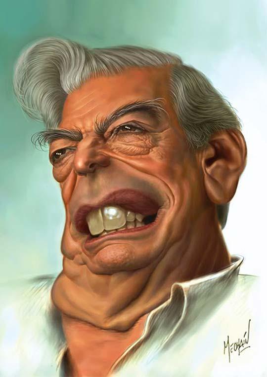 Caricatura fisonómica de MECHAÍN DOROTEO
