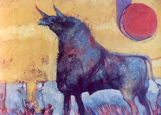 Ilustración y pintura de RICARDO HEREDIA