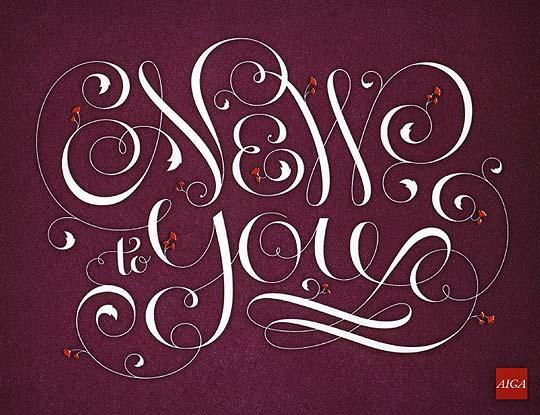 Ilustración y tipografía de JESSICA HISCHE
