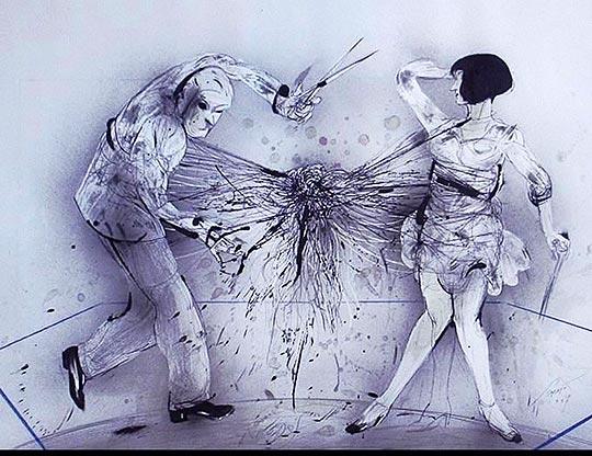 Ilustración y dibujo de LUIS SCAFATI