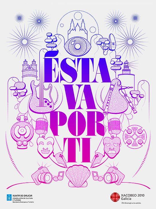 Dibujo Diseño gráfico, ilustración y tipografía de MARTA CERDÀ