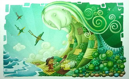 Ilustración ecuatoriana en la Feria del Libro de Bogotá