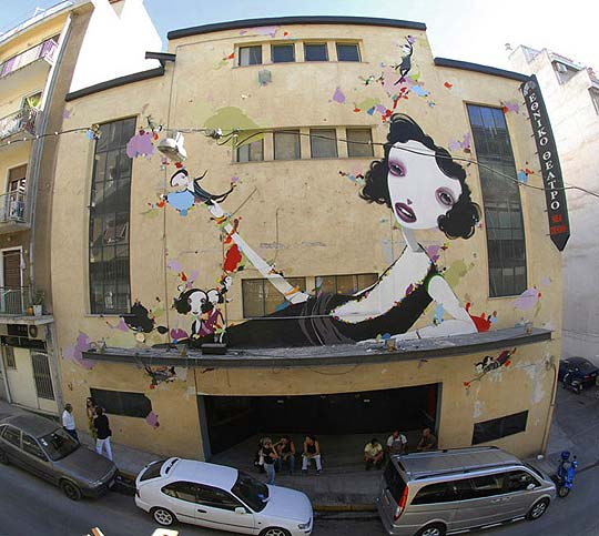 Arte urbano y gran estilo con ALEXANDROS VASMOULAKIS