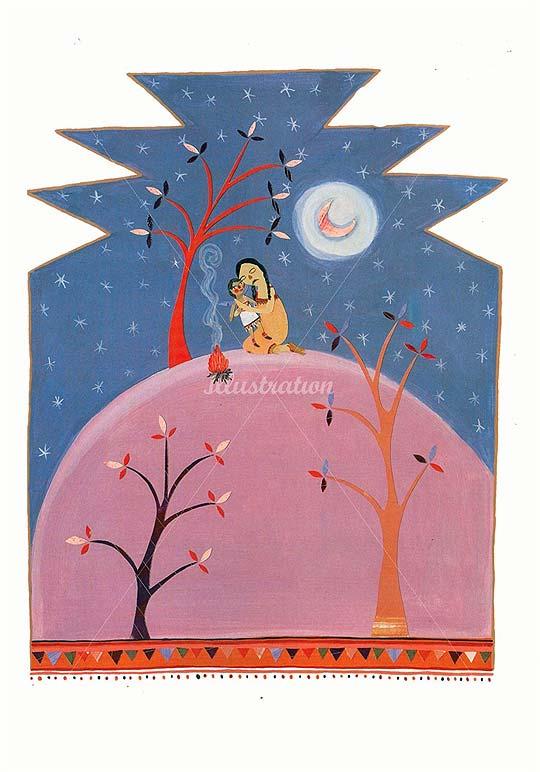 Ilustración infantil de ANNE WILSON