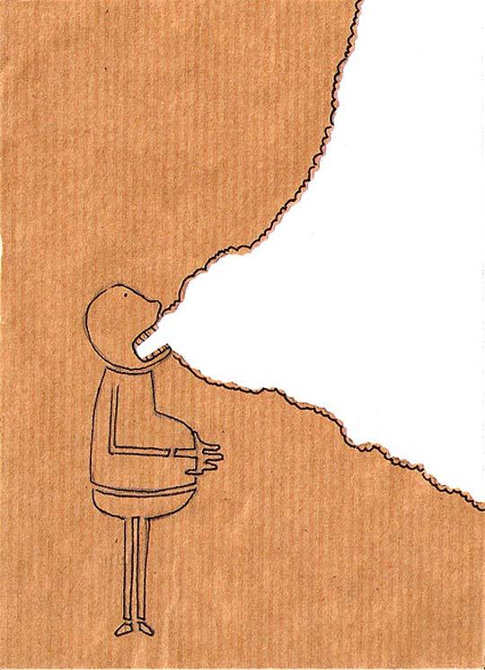 Ilustración conceptual e infantil de BEA CRESPO