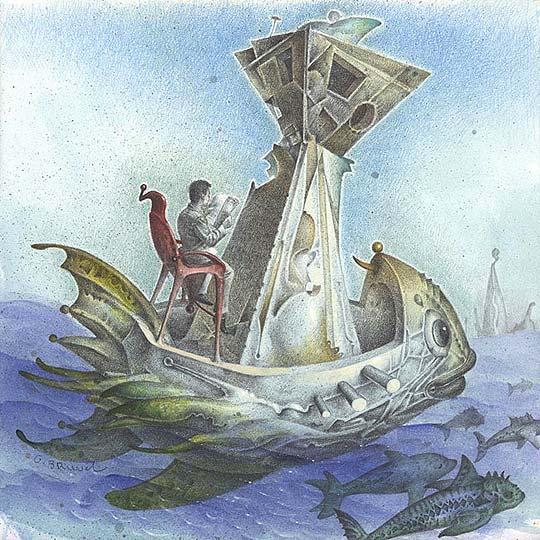 Ilustración y pintura de GIL BRUVEL